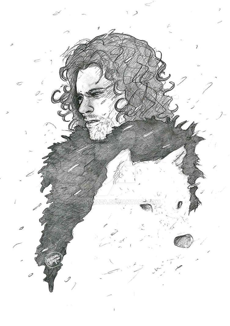 Jon Snow by BiondezzA