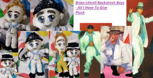 Brian Littrell All I Have To Give Plush