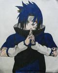 Sasuke Curse Seal by captain-Jane