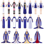 SSMU Inuyasha Outfits [COMPLETE]