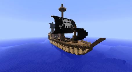 Pirate Ship of Mortag by mysocks4u