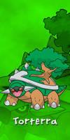 Pokemon Sinnoh Starters Torterra
