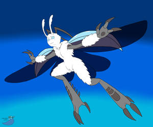 Povo takes flight by SorcererLance
