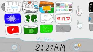 Old Wii Menu by chickennuggestRa1d3n