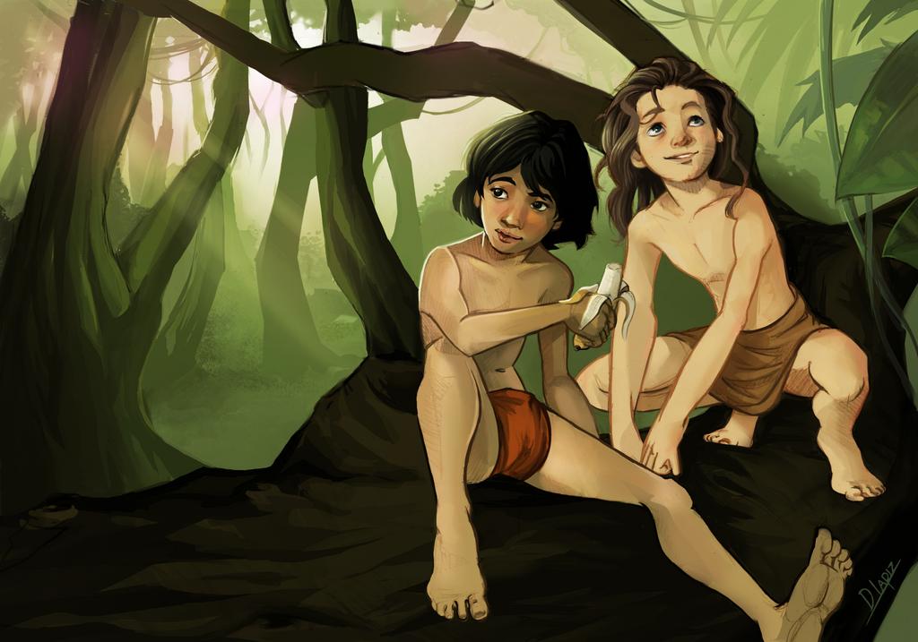 Boys of jungle by DLapiz