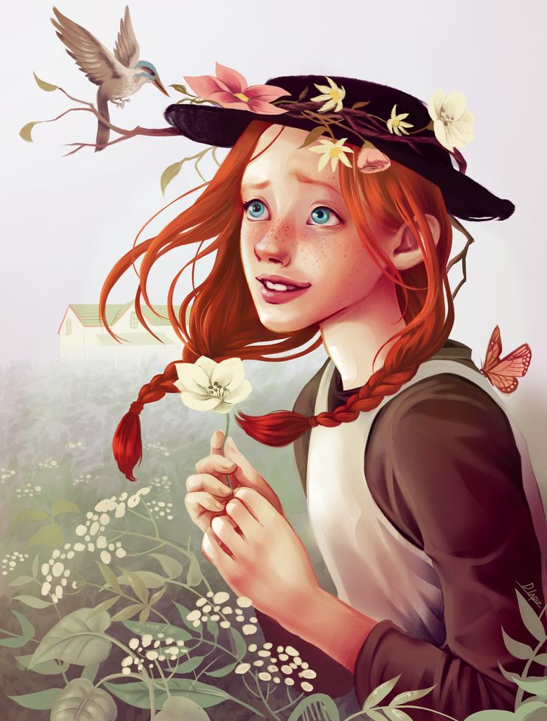 Anne of Green gables by DLapiz