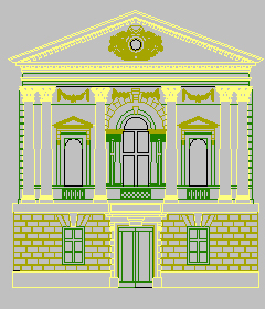 CAD dwg of Roman Bath Entrance by LocationCreator on DeviantArt