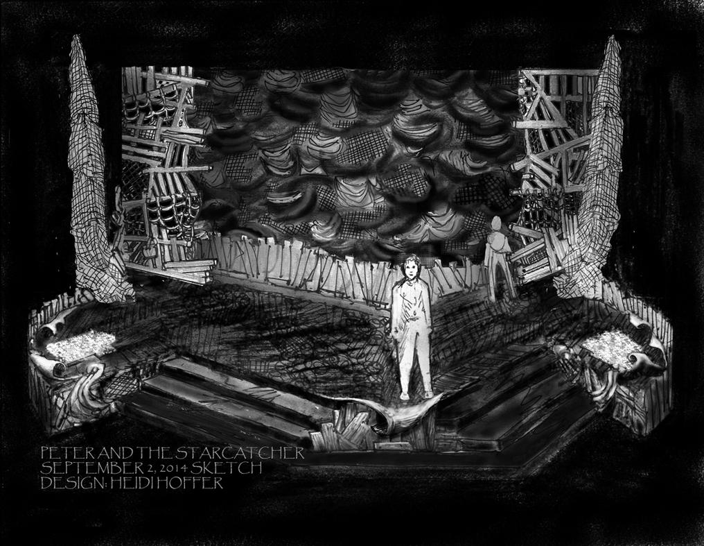 Rough Sketch for Peter And The Starcatcher by LocationCreator