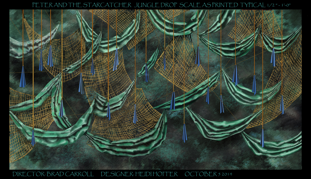 Collaged Backdrop for Peter and the Starcatcher by LocationCreator
