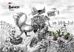 Esktober day 9: Harvest