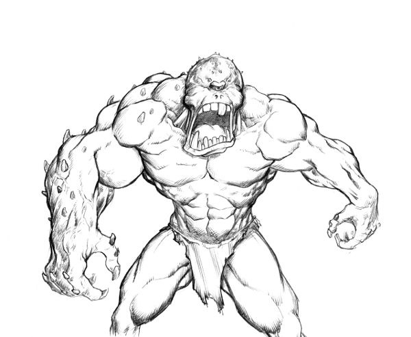 Monster Monday Volume 2 Sketch 12 By Comicbookist On