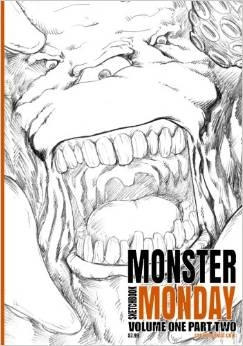 Monster Monday Sketchbook Vol.1 Part 2 Front Cover by Comicbookist