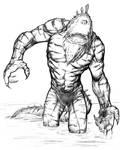 Monster Monday Volume 3 Sketch No. 17