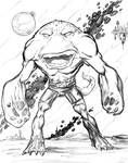 Monster Monday Volume 3 Sketch No.22 by Comicbookist