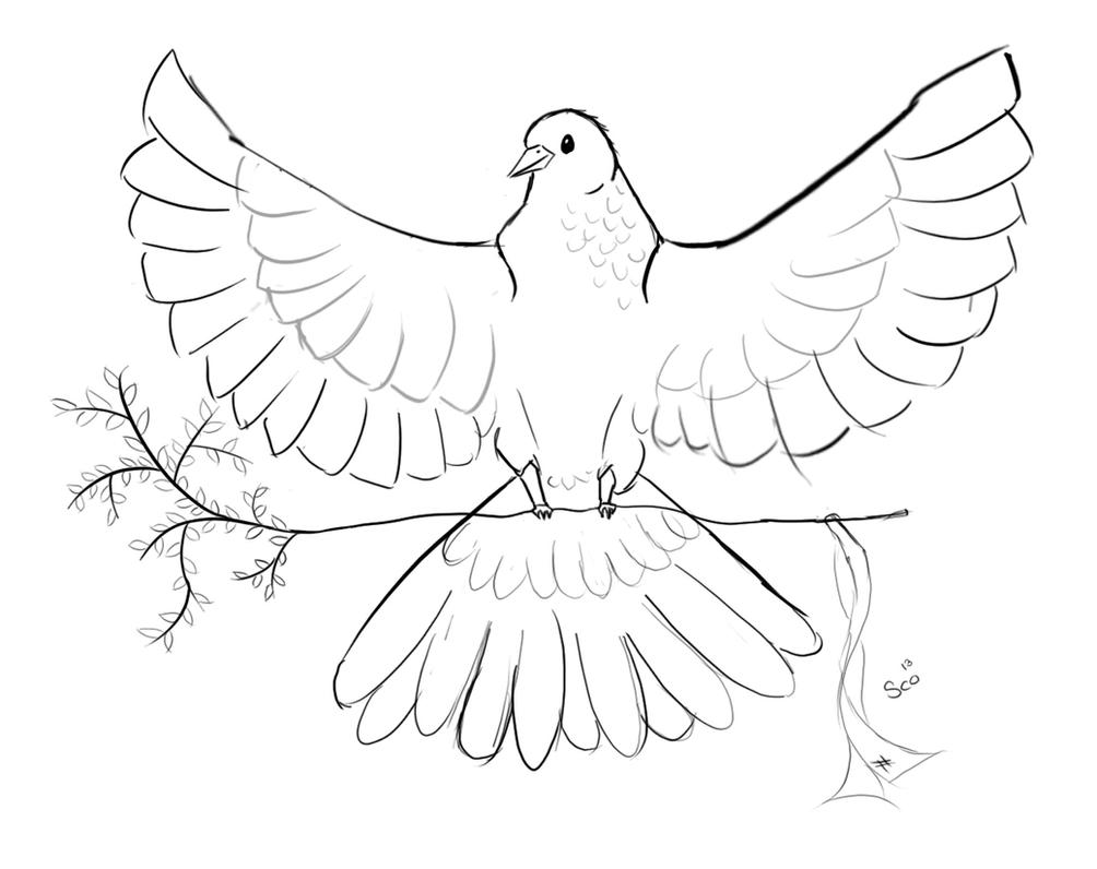 Pigeon Symbol For Peace By Catharina Sco On Deviantart