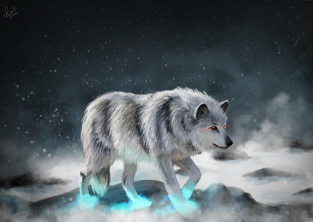 The Fenris Wolf by Catharina-Sco