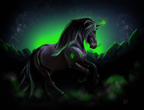 Demon horse