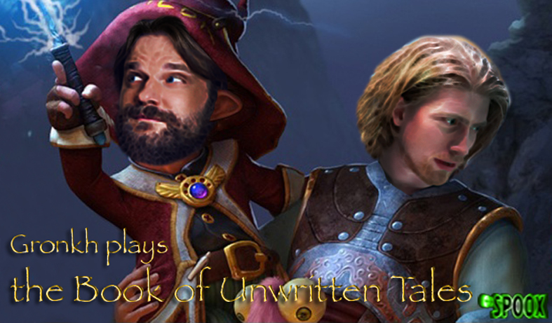 Gronkh in The Book of Unwritten Tales by Spoox79