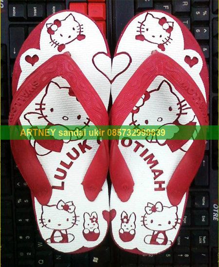 Sandal Ukir Hello Kitty Cantik By Neymevlevi On Deviantart