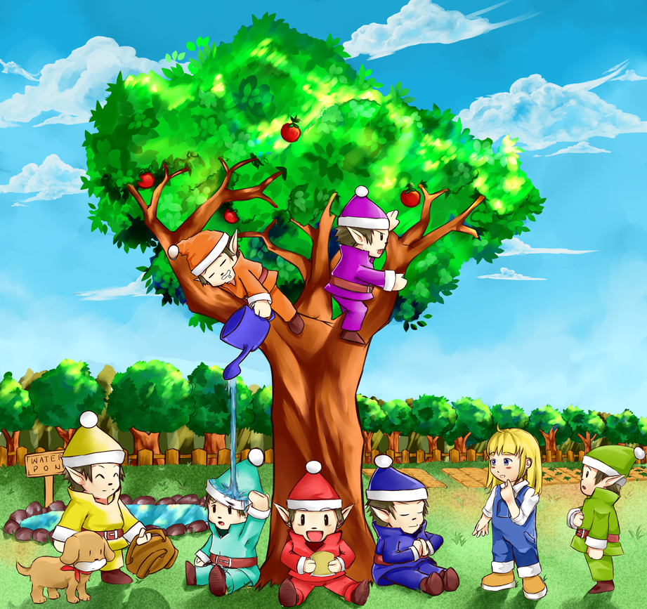 Harvest Sprites by TakeichiSudo