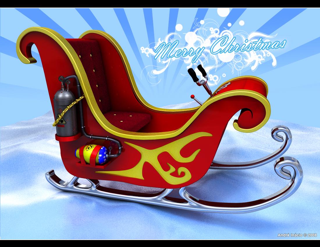 Real Santa Sleigh Santa's super sleigh by