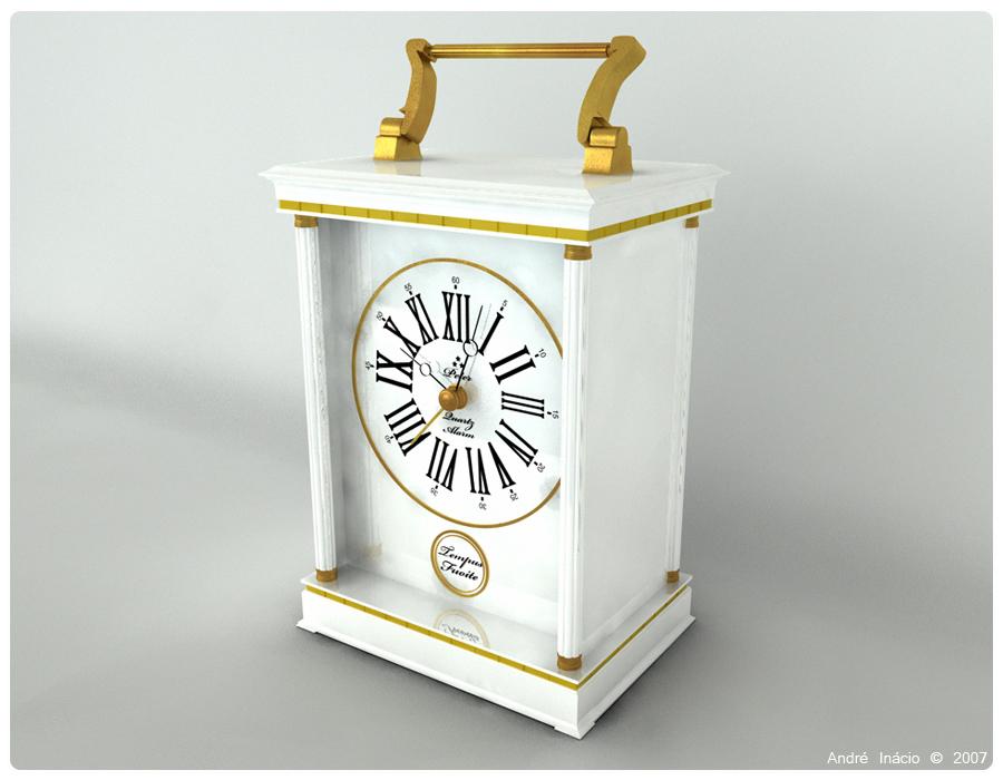 White Clock by Hunterb8