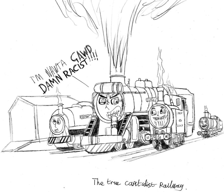 The True Capitalist Railway by Danishinterloper656