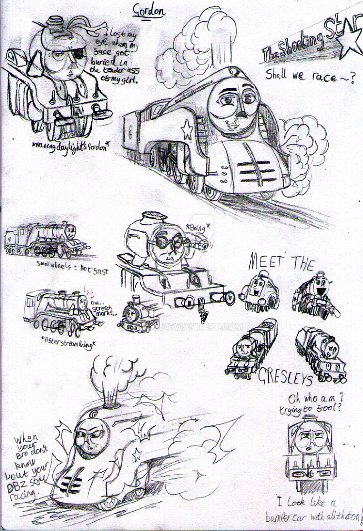 Galloping Sausage Doodle Dump By MrJoj