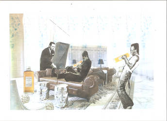 Nikka whisky collage jazz private festival by dreadnoughtsimo