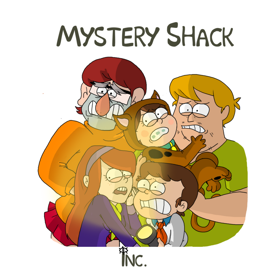 Mystery Shack Inc. by itsaaudraw
