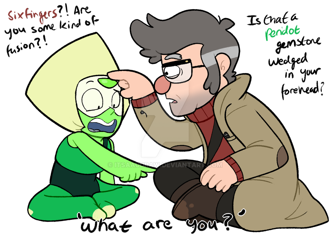 Peridot Meets Ford by itsaaudra