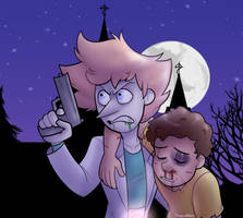 Rescuing Morty by itsaaudraw