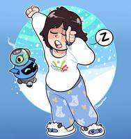 Wake Up, Sleepyhead! by itsaaudraw