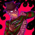 Freddy Krueger by itsaaudraw
