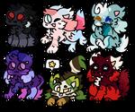 Nature Kittydogs! { BTA | 2/6 Sold } (CLOSED.)