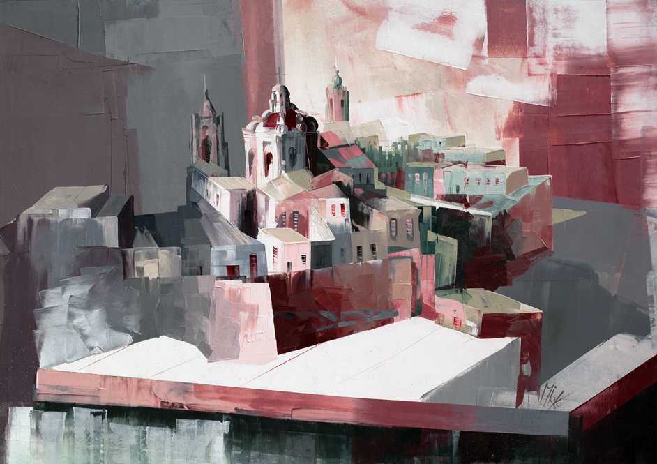 Medieval Walled City No2 by Micko-vic