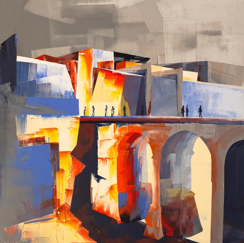 Valletta city gate by Micko-vic
