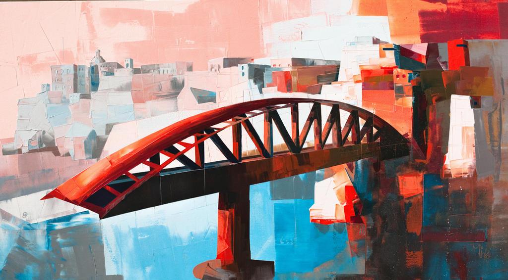 St. Elmo breakwater bridge by Micko-vic