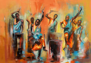 african drums by Micko-vic