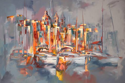 The Three Cities marina