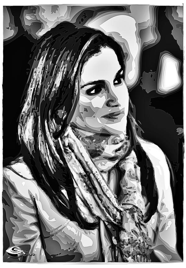 Queen Rania of Jordan by Artist-HD