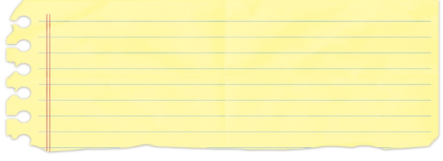 Piece Of Notebook Paper Png | www.imgarcade.com - Online ... Loose Leaf Paper Clipart