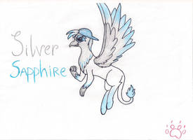 Silver Sapphire [contest entry] by FastAnimal