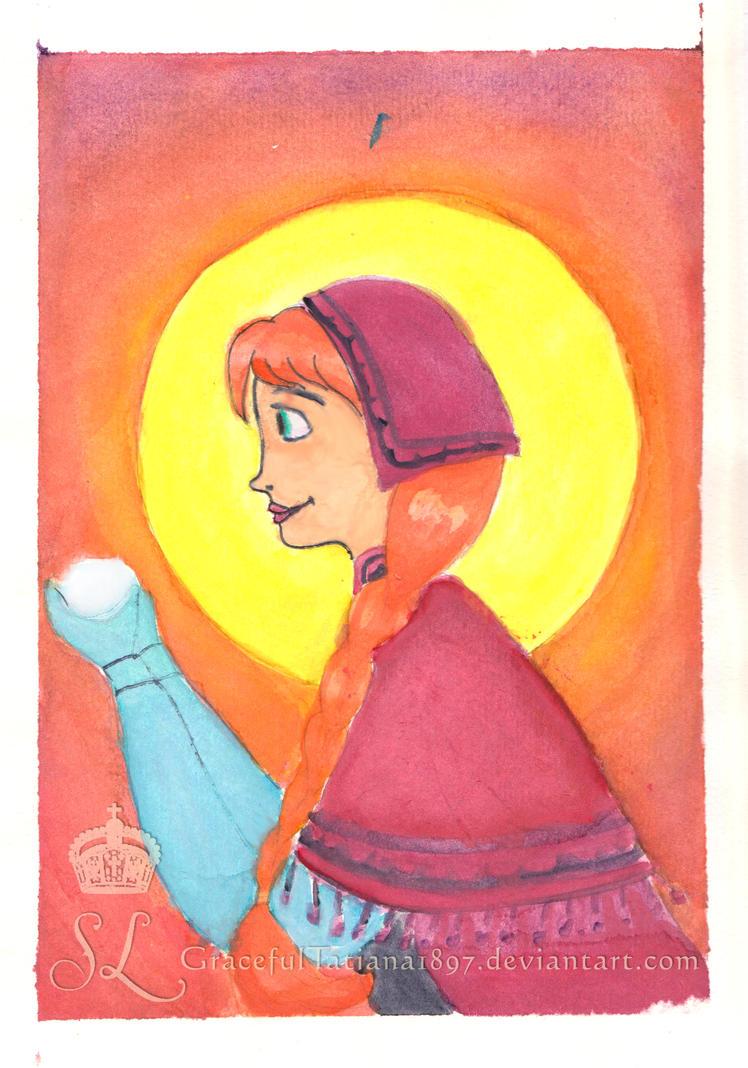Midnight Sun Anna by GracefulTatiana1897