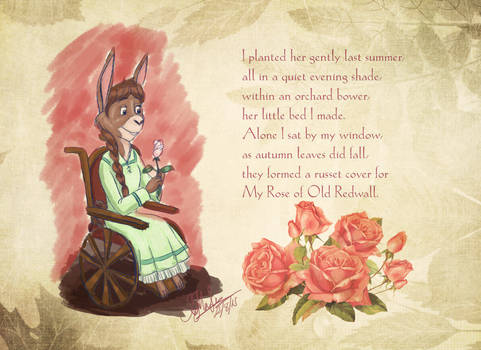 My Rose of Old Redwall - wallpaper 1 of 3