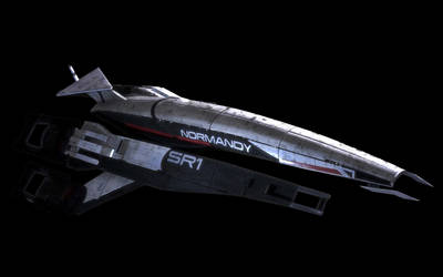 Mass Effect's Normandy by hhunt24