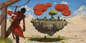 Floating Island by KillerGmbH