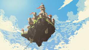 Flying Castle by KillerGmbH