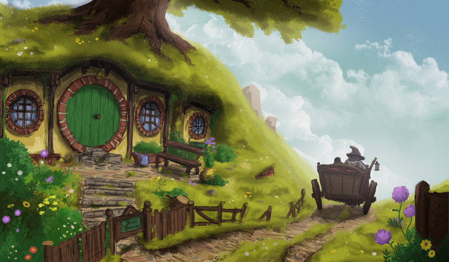 The Lord of the Rings, Shire by KillerGmbH