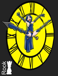 Raven clock bound by Rook-07